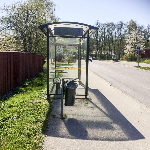 busshållplats, lövholmenvägen