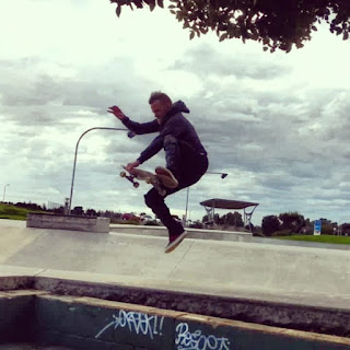 Mark Jansen Adelaide Skateboarding West Beach Boneless