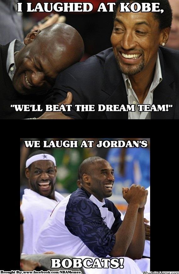 memesNBA: Kobe Bryant Thinks 2012 Team Would Beat '92
