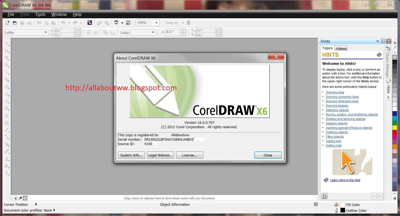 keygen coreldraw x6 64 bits windows 10