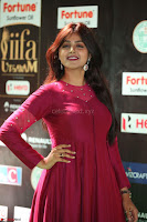 Monal Gajjar in Maroon Gown Stunning Cute Beauty at IIFA Utsavam Awards 2017 067.JPG