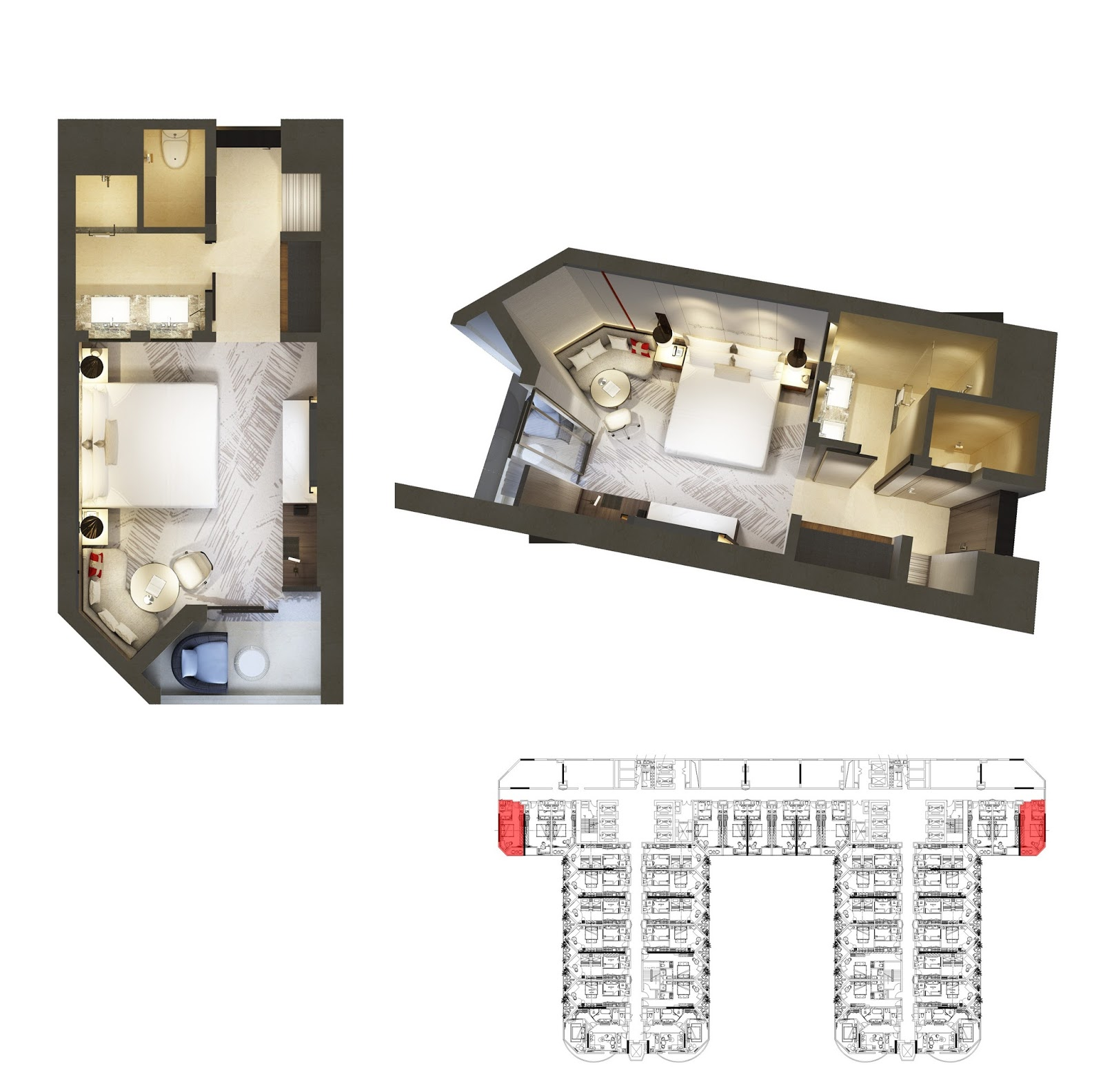 Mặt bằng thiết kế căn hộ 12  La Luna Nha Trang