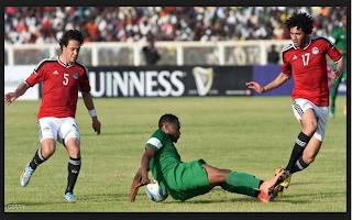 نتيجة مباراة مصر ونيجيريا اليوم حتي الآن 1/0 لمنتخب نيجيريا (الشوط الثاني)