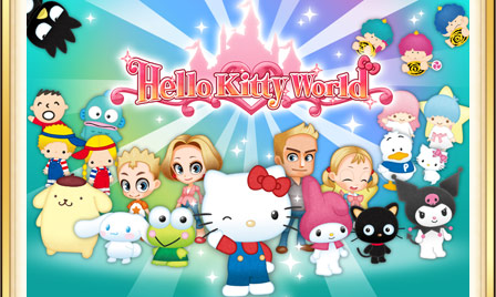 Create and Visit Your Dream Amusement Park in Hello Kitty World