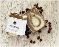Mikuno Naturalne mydło do ciała z mielonymi ziarnami kawy www.mikuno.pl