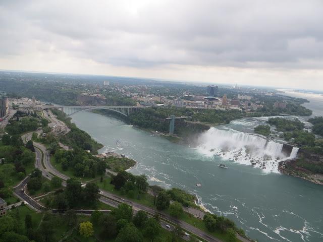 Bridge to Niagara Falls, New York