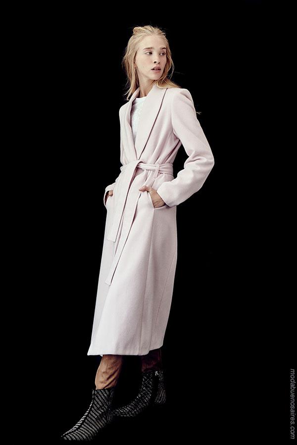 Ropa de moda 2018. Moda invierno 2018 abrigos.