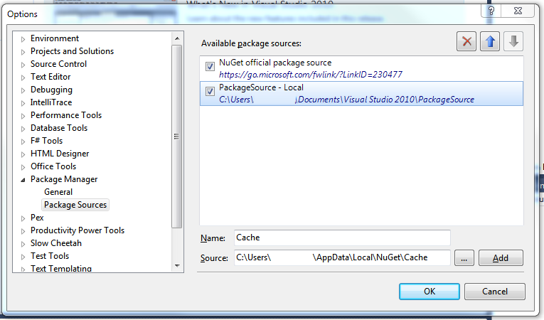 Install NuGet Packages Offline (Successfully)