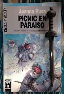 Portada del libro Pícnic en Paraíso, de Joanna Russ