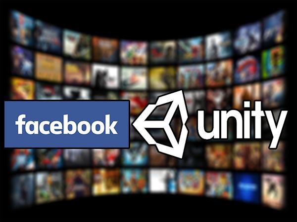 اعلان شركة الفيسبوك عن شراكة جديدة مع محرك Unity