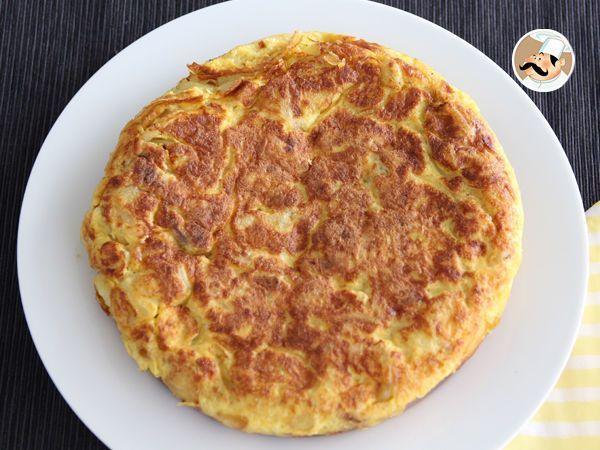 Recette Tortilla espagnole pommes de terre et oignons