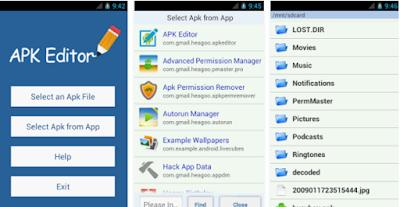 تحميل أفضل تطبيق محررالتطبيقات للاندرويد  APK Editor 2017