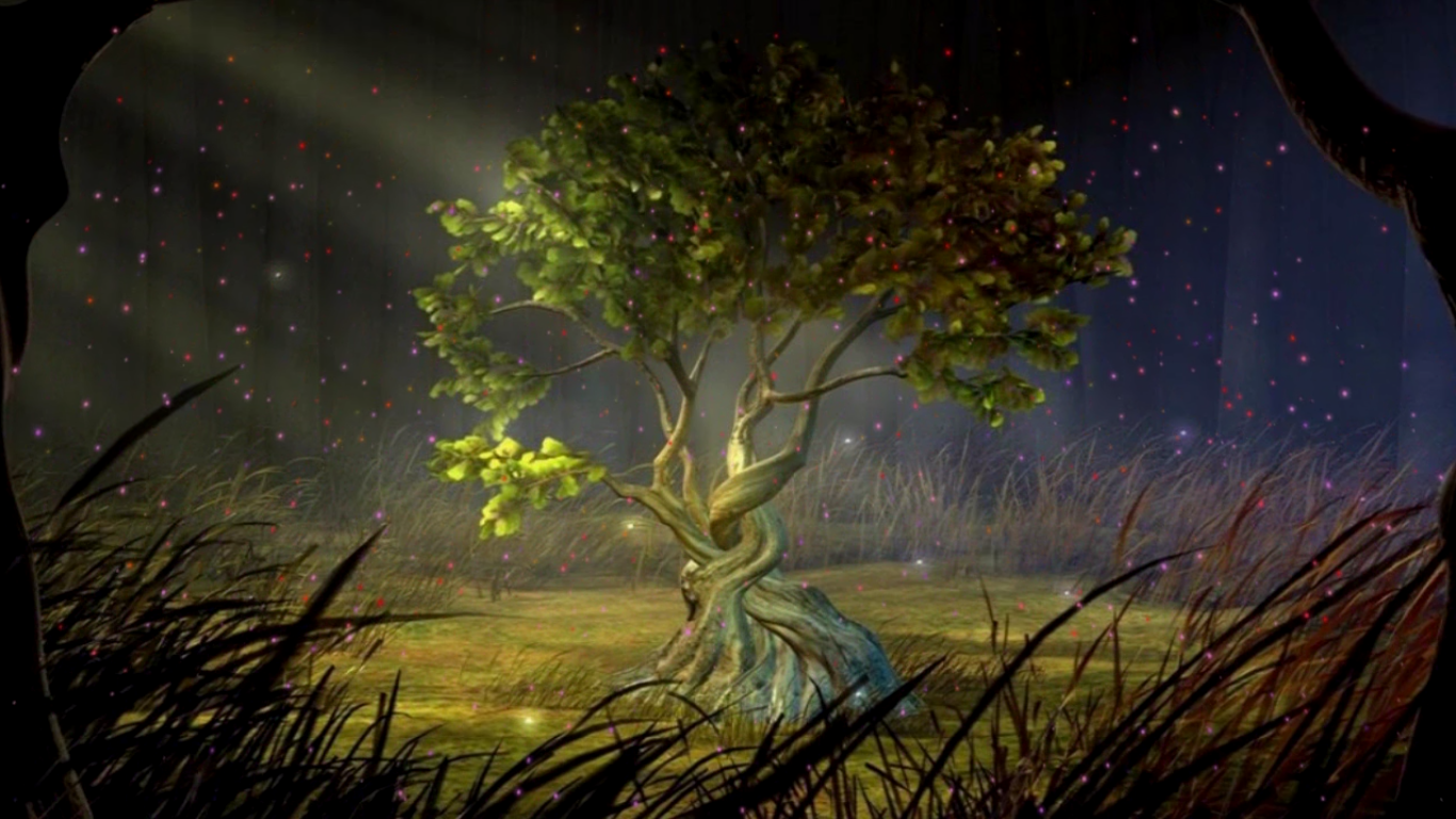 Hd Only Free Wallpapers Mystic Tree Animated Hd Wallpaper