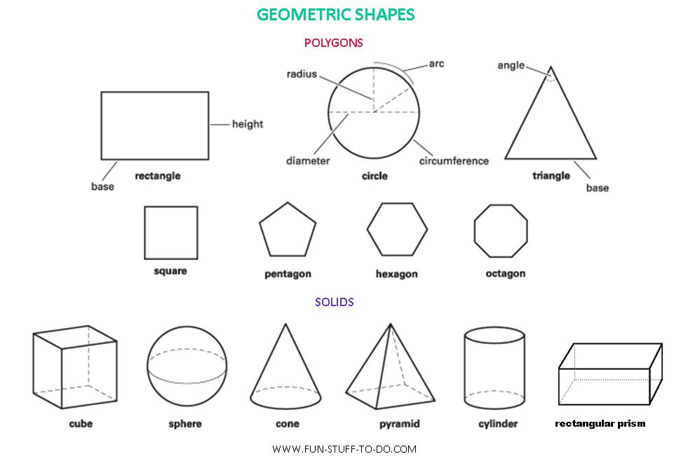 3d Shapes For Children :: 3d Puzzle Image
