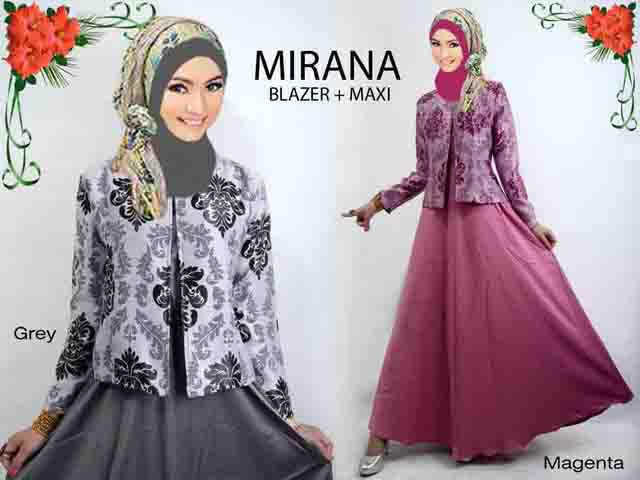 Koleksi Baju Gamis Muslim Terbaru