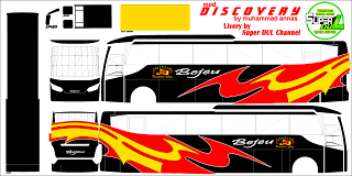 Download Livery Bus Discovery Jaya