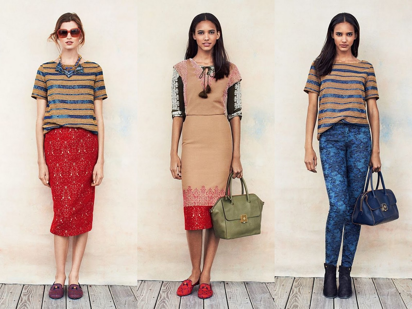 eaccf5c883fe Tory Burch Pre-Fall Lookbook  Shop The Look - Look Linger Love Look ...