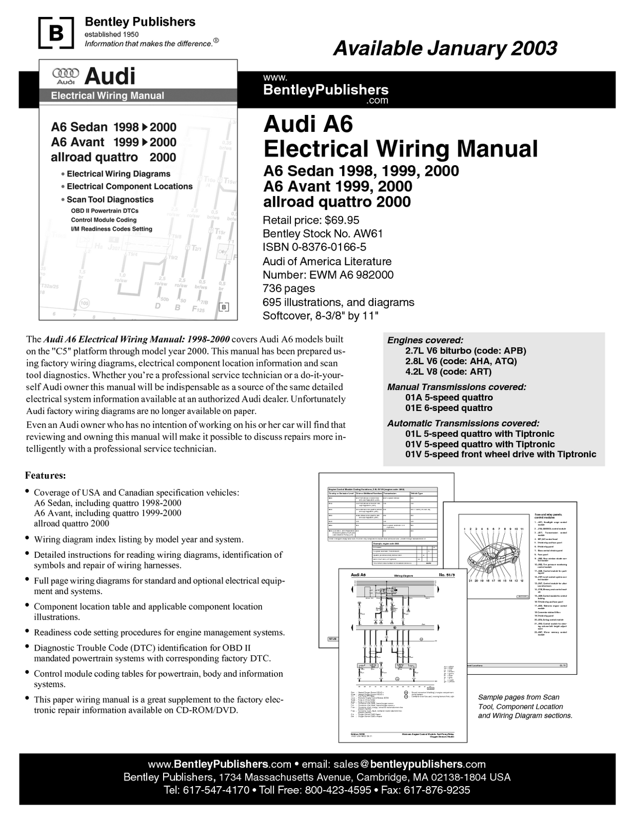 Electrical Wiring Manual 2003 Audi A6