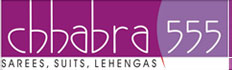 Chhabra 555 ethnic fashion garments franchise logo