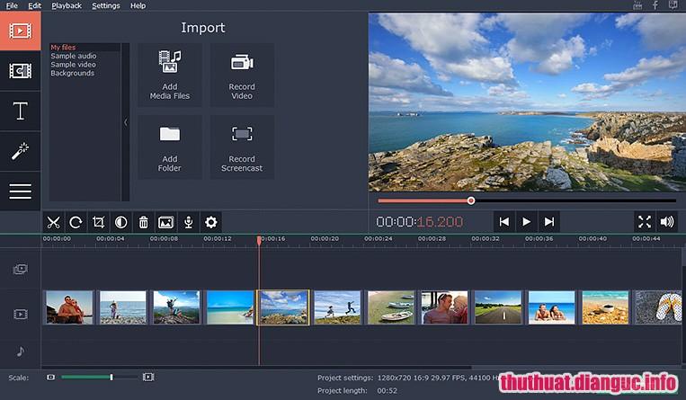 Download Movavi Slideshow Maker 5.1.0 Full Cr@ck – Phần mềm tạo slideshow dễ sử dụng