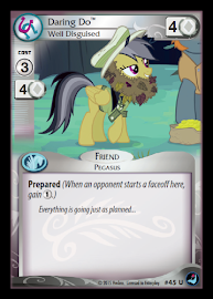 My Little Pony Daring Do, Well Disguised High Magic CCG Card