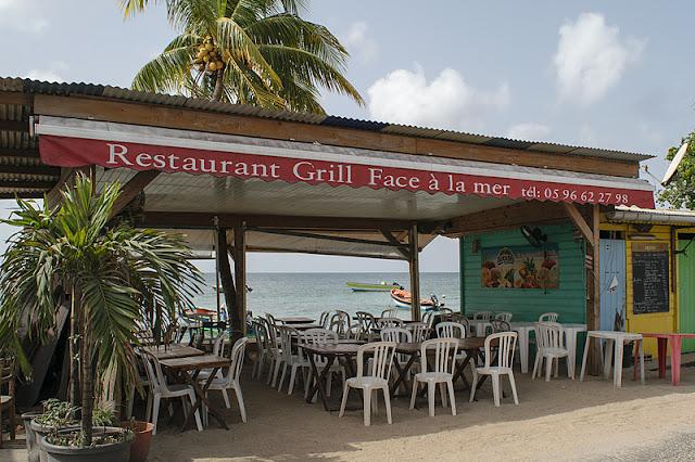 Le restaurant Face à la Mer de Sainte-Luce