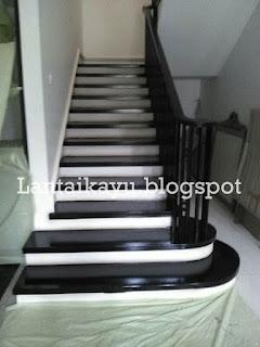 papan tangga kayu jati berkualitas