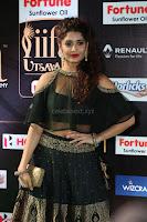 Ritika Singh in a Ethnic Deep Neck Dark Green Choli Ghagra at IIFA Utsavam Awards March 2017 ~ 055.JPG