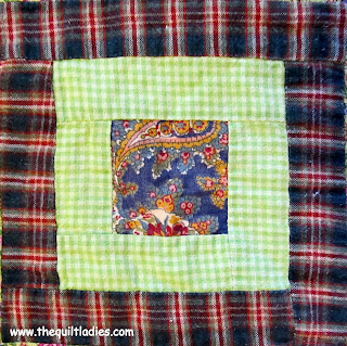 Log Cabin Plaid Quilt Pattern Free