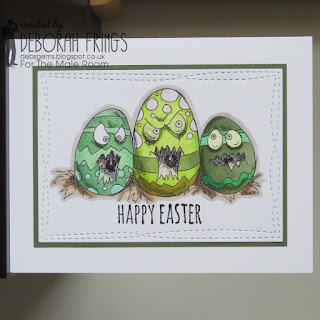 Happy Easter sq - photo by Deborah Frings - Deborah's Gems