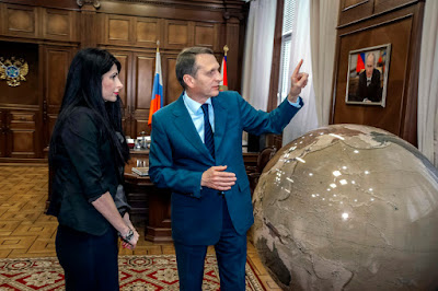 Глава СВР Сергей Нарышкин: Мне всегда нравился памятник Дзержинскому