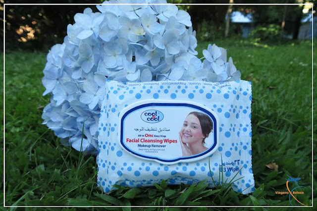 Facial Cleasing Wipes All in One Cool & Cool