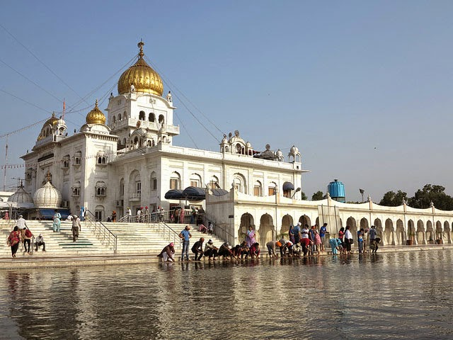 Gurudwara Bangla Sahib, Connaught Place