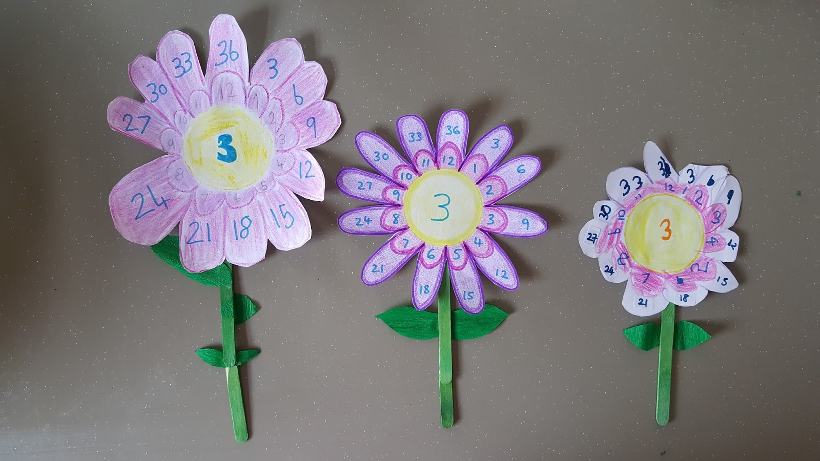 Waldorf Inspired Multiplication Crafts