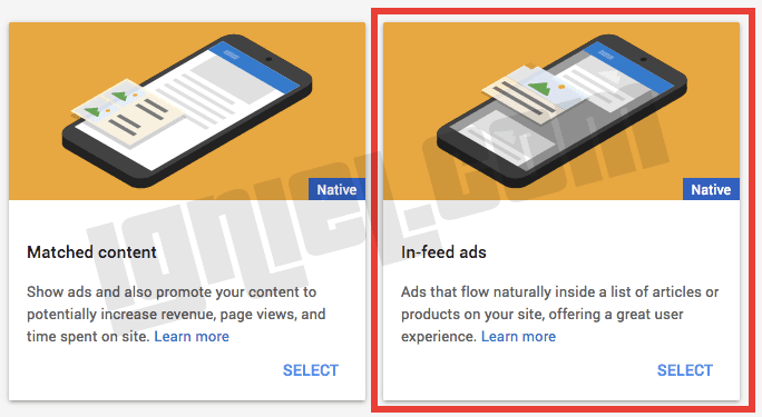 Cara Membuat Jenis Iklan In Feed AdSense Untuk Blogspot