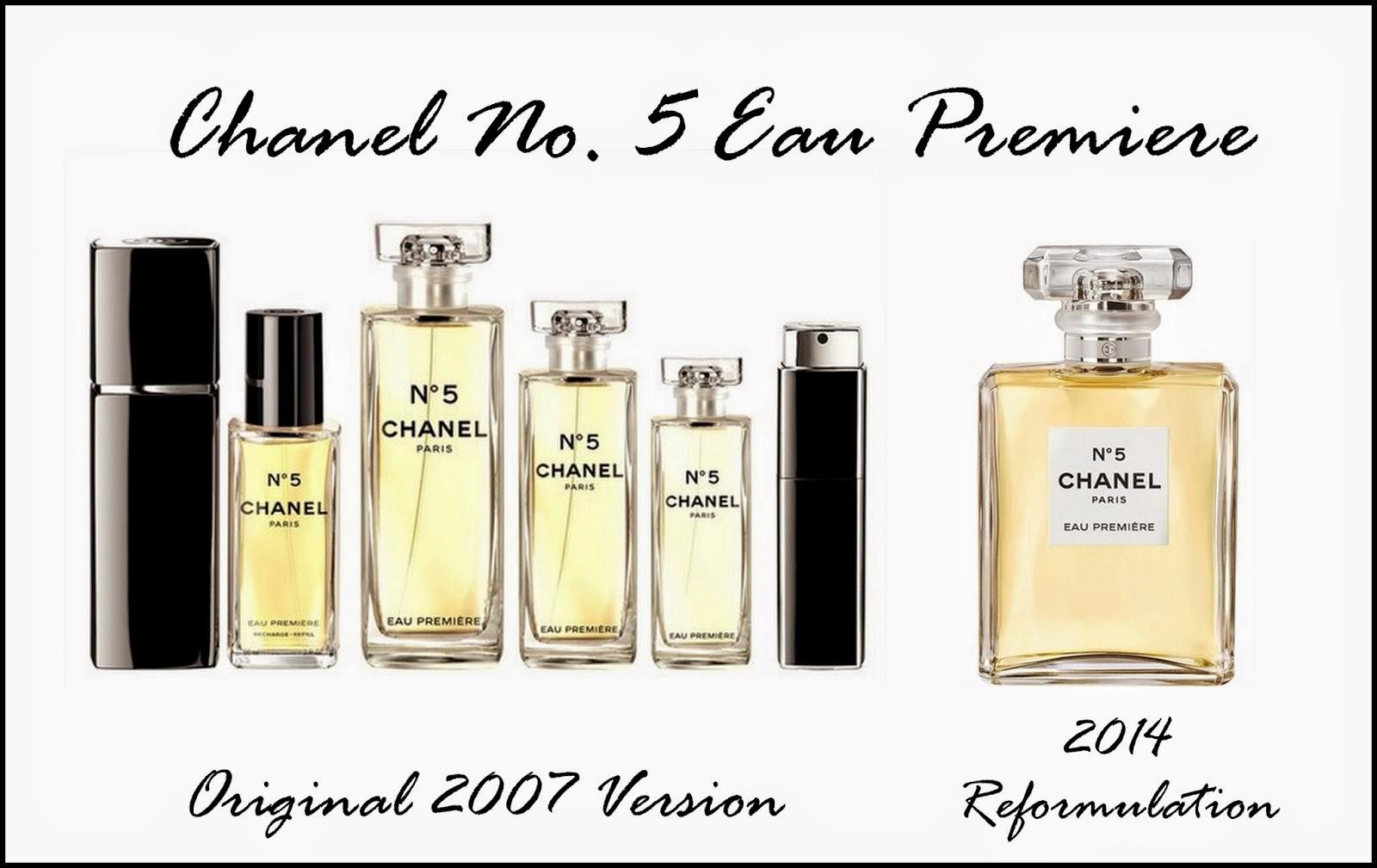 Chanel Perfume Bottles December 2014