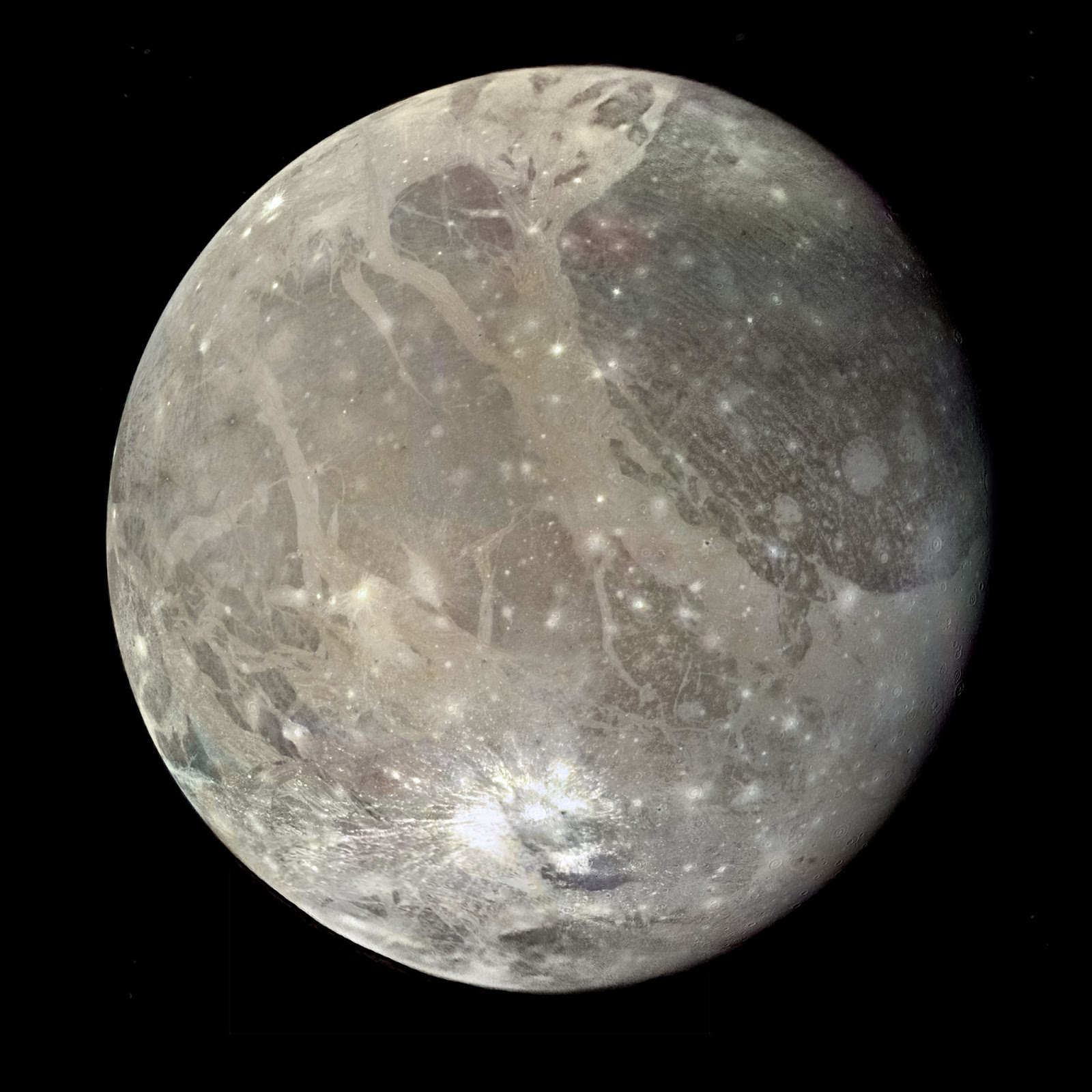 Dream Walker: Biggest Satellites of our Solar System