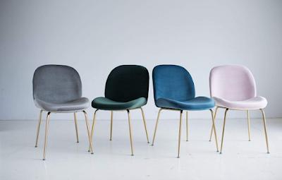 Edloe Finch Modern Velvet Dining Chairs (Set of 2) Upholstered Forest Green