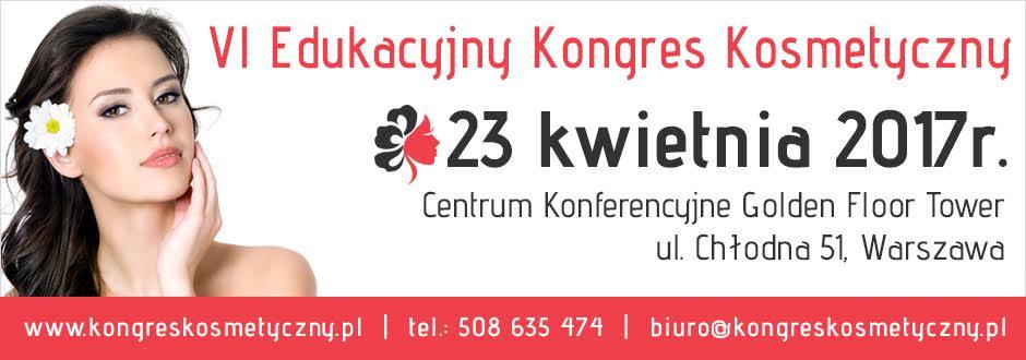VI Edukacyjny Kongres Kosmetyczny - wygraj wejściówki!