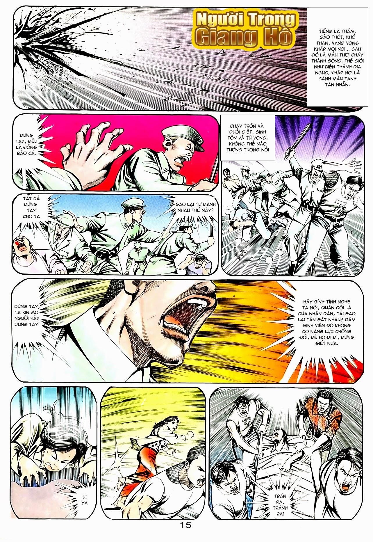 Người Trong Giang Hồ chapter 95: tình kiêu trang 26