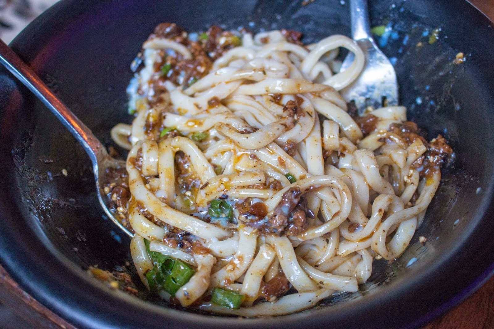 Philly Food Blog: Sampan Dan Dan Noodles