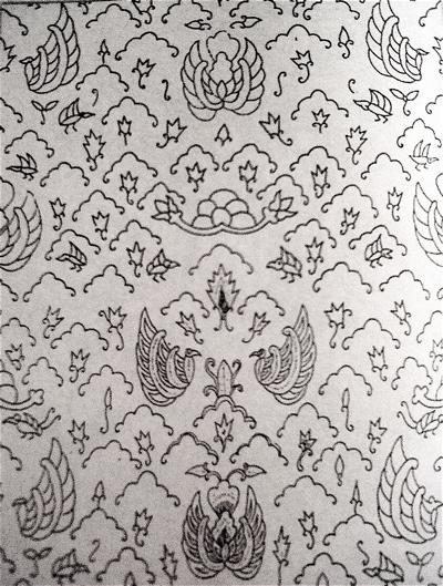 Gambar Batik Keris