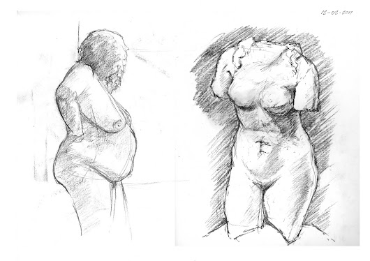 Observational & Life Drawings