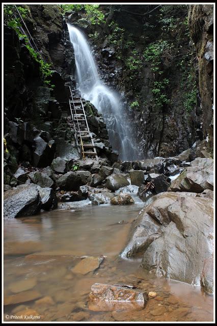 Waterfall at Pawankhind