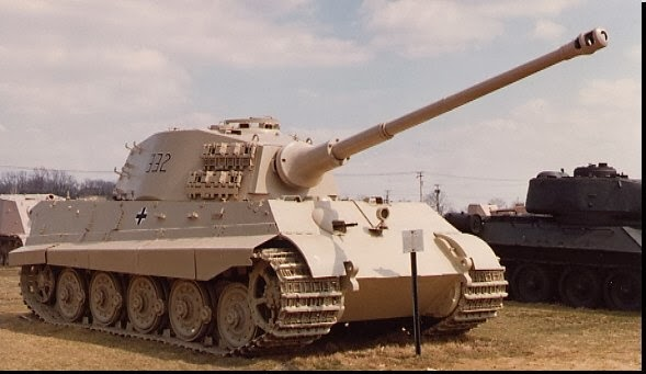Tiger II tank worldwartwo.filminspector.com