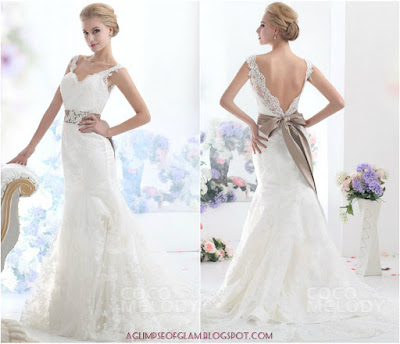 cocomelody wedding dress Andrea Tiffany aglimpseofglam