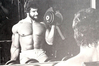 Lou Ferrigno training for Hercules
