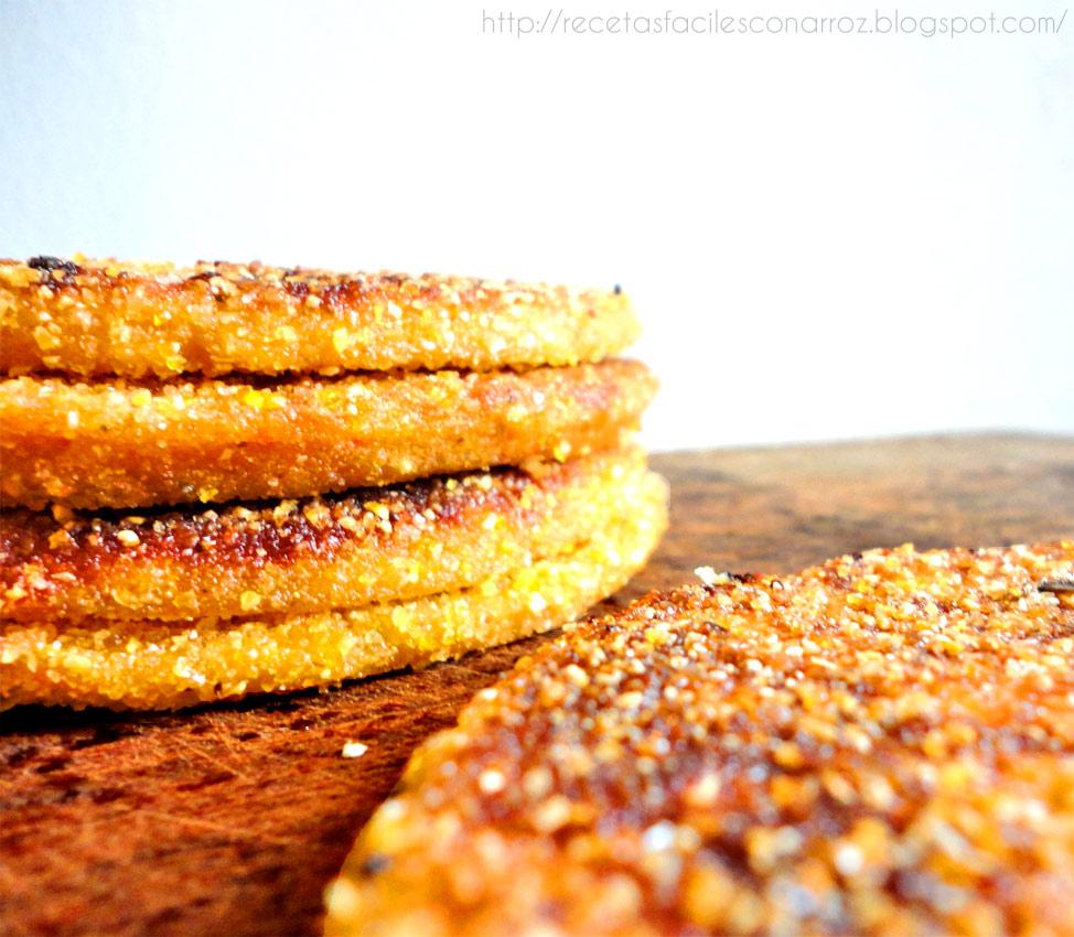 milanesas de soja sin gluten