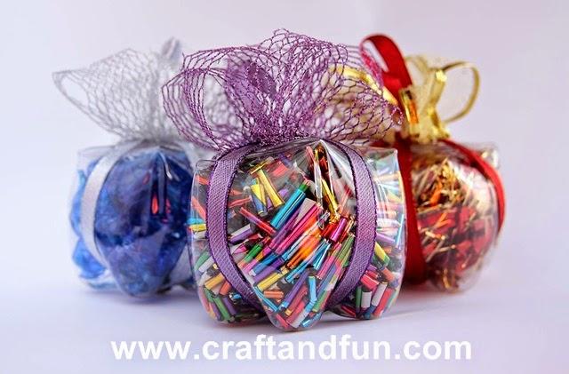 Ben noto Riciclo Creativo - Craft and Fun: Idee di Natale: Riciclo  TK33