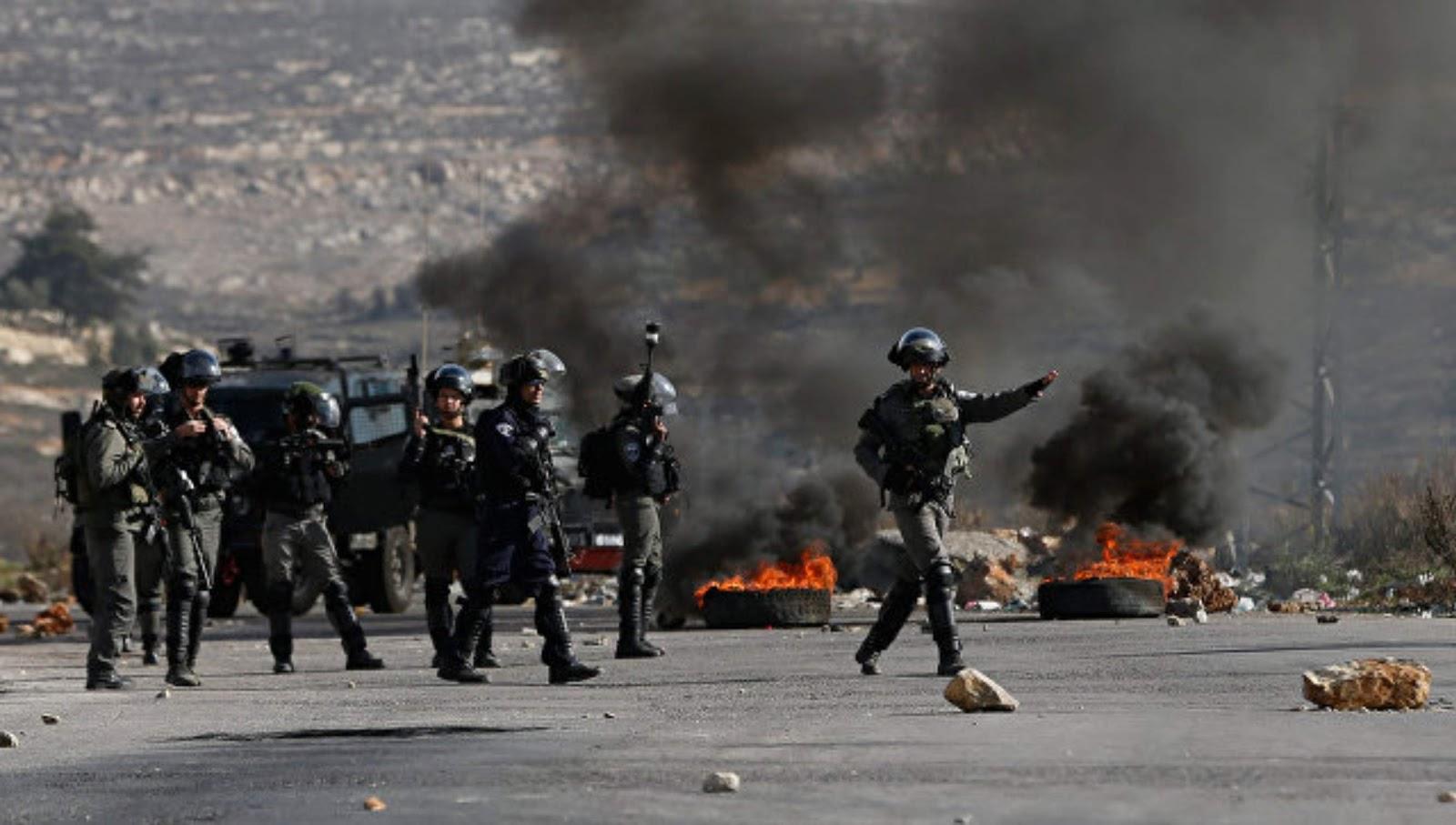 Tentara Israel menangkap sembilan orang Palestina dan menyita uang di Tepi Barat
